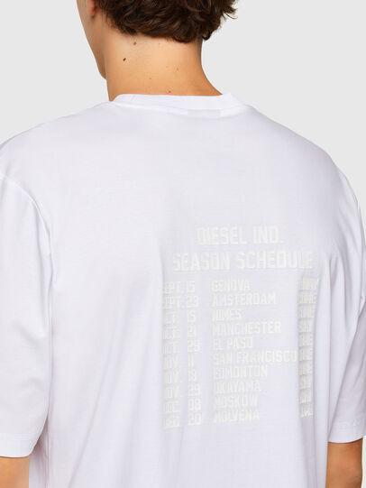 Diesel - T-GORAN-A1, Blanco - Camisetas - Image 3