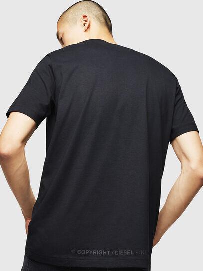 Diesel - T-JUST-B31, Negro - Camisetas - Image 2
