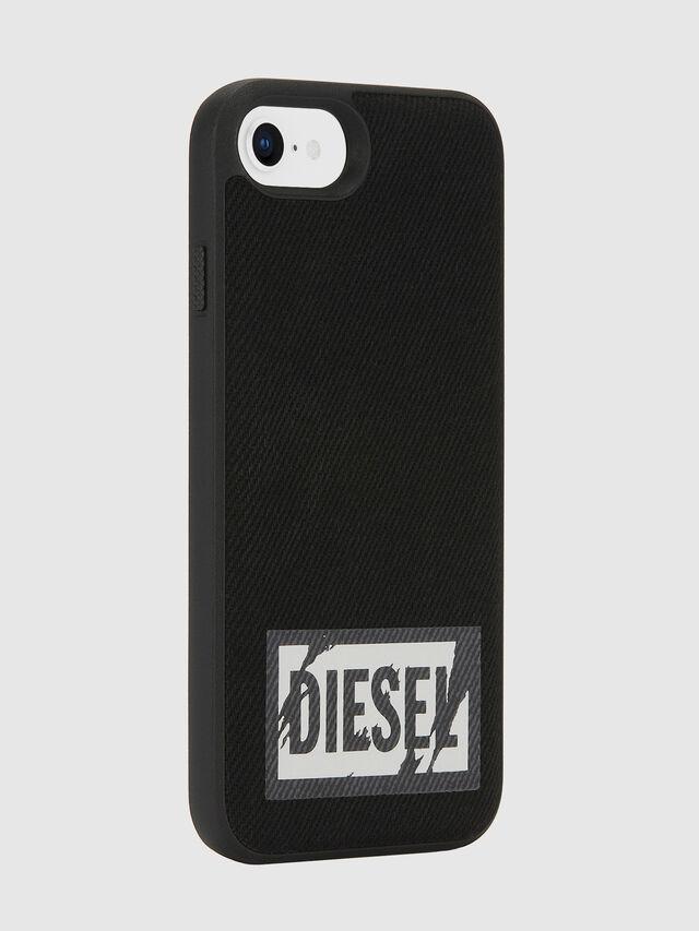 Diesel - BLACK DENIM IPHONE 8/7/6S/6 CASE, Negro - Fundas - Image 5
