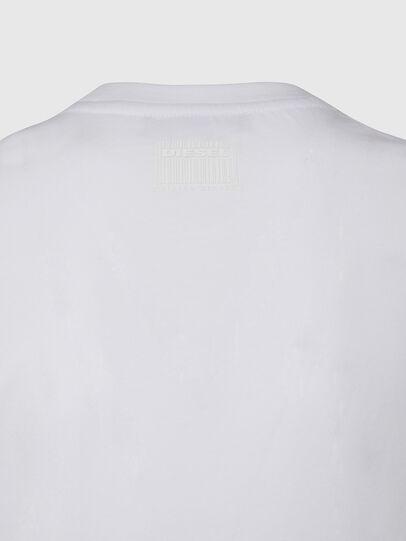 Diesel - T-SILY-E53, Blanco - Camisetas - Image 4