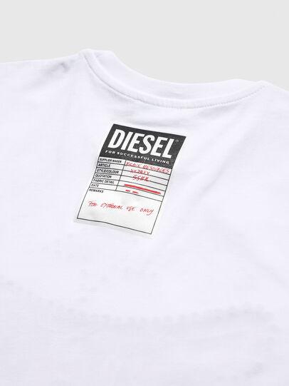 Diesel - TNICOLE, Blanco - Camisetas y Tops - Image 4