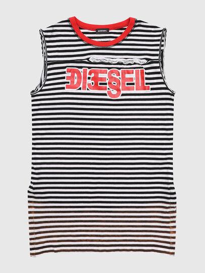 Diesel - TART, Negro/Blanco - Camisetas y Tops - Image 1
