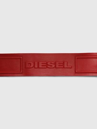 Diesel - B-INO, Rojo Fuego - Cinturones - Image 4
