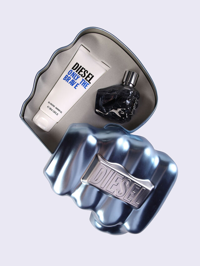 Diesel - ONLY THE BRAVE 50ML METAL GIFT SET, Azul - Only The Brave - Image 1