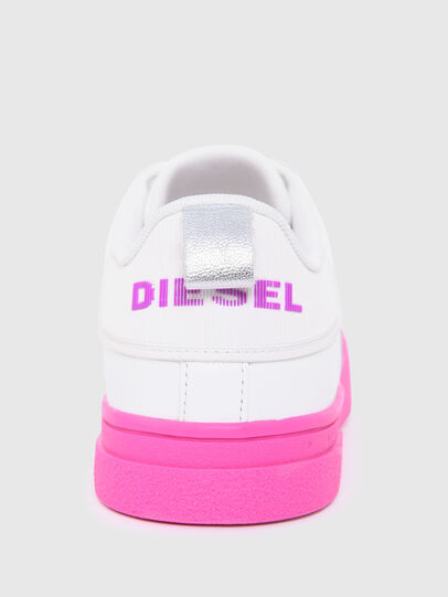 Diesel - S-CLEVER LOW LACE W, Blanco/Rosa - Sneakers - Image 6