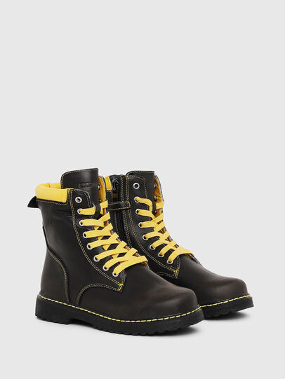 Diesel - HB LACE UP 04 CH, Negro - Calzado - Image 2
