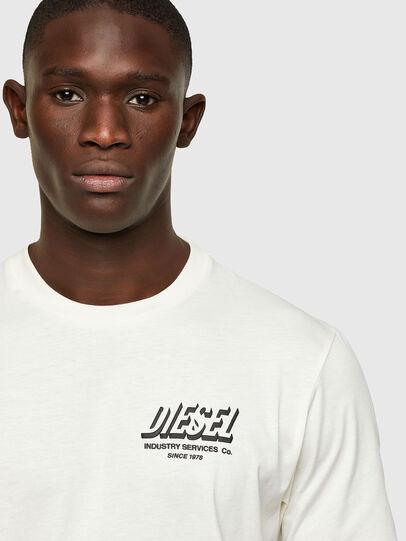 Diesel - T-JUST-A33, Blanco - Camisetas - Image 3