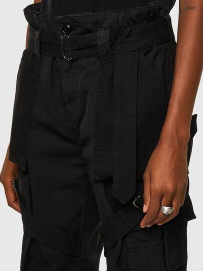 Diesel - P-FEDRA-A, Negro - Pantalones - Image 4