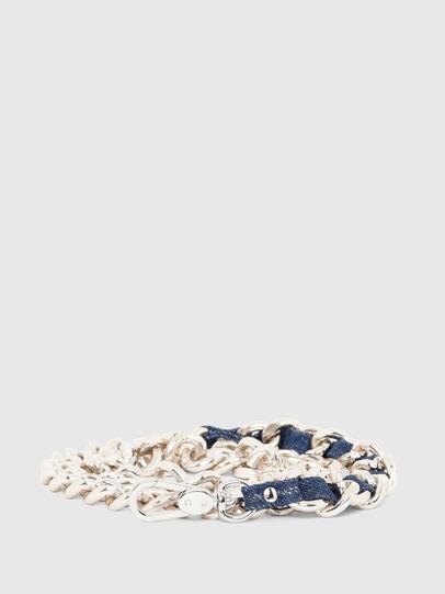 Diesel - B-CHAIN, Dorado/Azul marino - Cinturones - Image 1