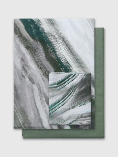 Diesel - 2003985 CLET WATER R, Gris/Verde - Set de Funda Nórdica - Image 1