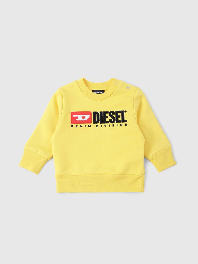 Diesel - SCREWDIVISIONB, Amarillo - Sudaderas - Image 1