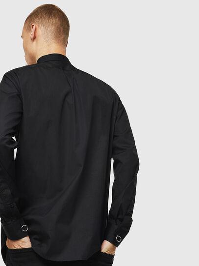 Diesel - S-AUDREY, Negro - Camisas - Image 5