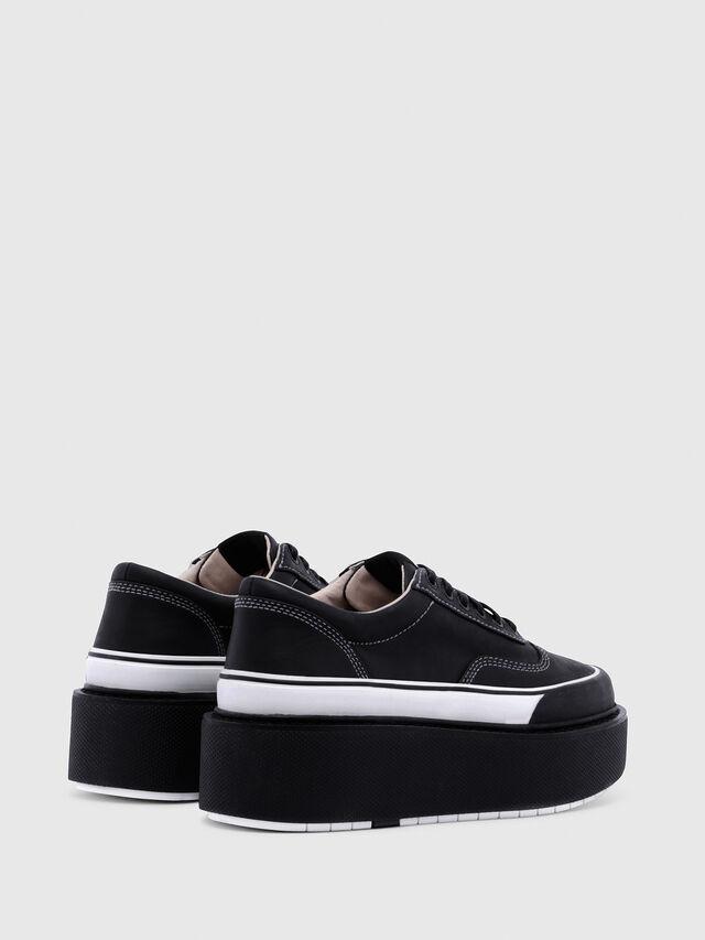 Diesel - H-SCIROCCO LOW, Negro/Blanco - Sneakers - Image 3