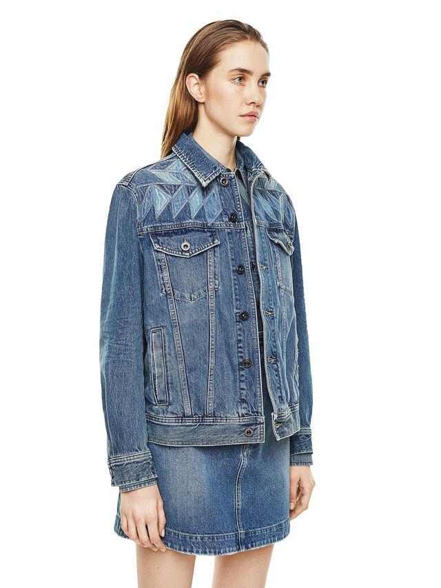 Diesel - WONDERY, Blue Jeans - Chaquetas - Image 5