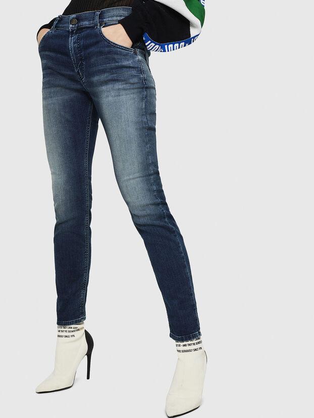 Krailey JoggJeans 069HF, Azul Oscuro - Vaqueros