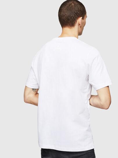 Diesel - T-JUST-A12, Blanco - Camisetas - Image 2