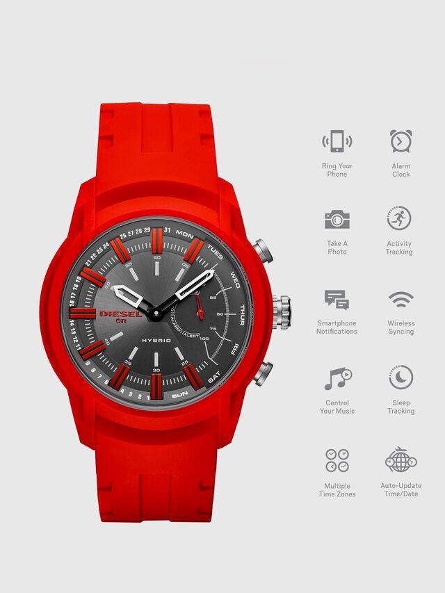 Diesel - DT1016, Rojo - Smartwatches - Image 1