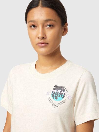Diesel - T-LILLY-B1, Blanco - Camisetas - Image 3