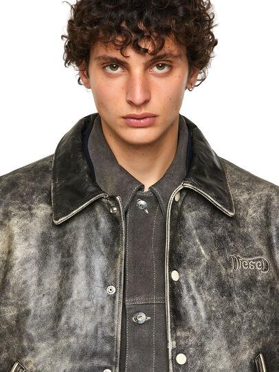 Diesel - DxD-2, Negro - Chaquetas de piel - Image 5