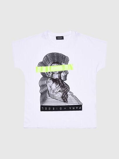 Diesel - TSOLARIX MC, Blanco - Camisetas y Tops - Image 1