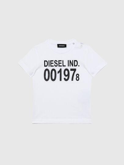 Diesel - TDIEGO001978B, Blanco/Negro - Camisetas y Tops - Image 1