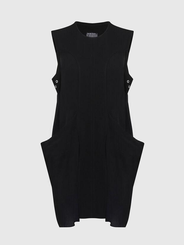 D-EVEN-A, Negro - Vestidos