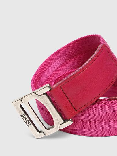 Diesel - B-WEBI, Rosa - Cinturones - Image 2