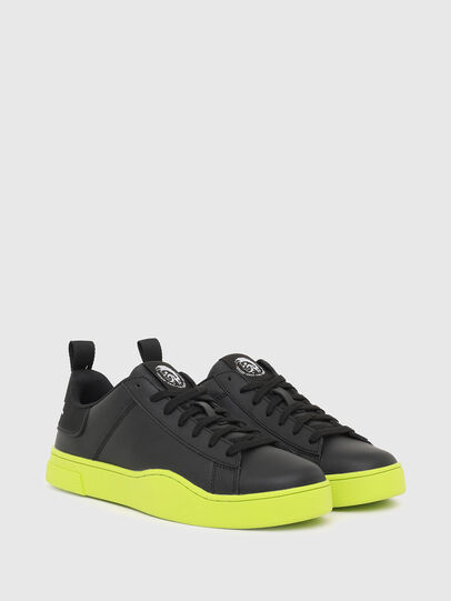 Diesel - S-CLEVER LOW LACE, Negro/Amarillo - Sneakers - Image 2