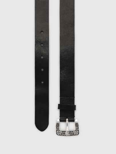 Diesel - B-MEXY, Negro - Cinturones - Image 3