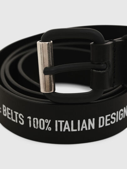 Diesel - B-CRESPINO, Negro - Cinturones - Image 2