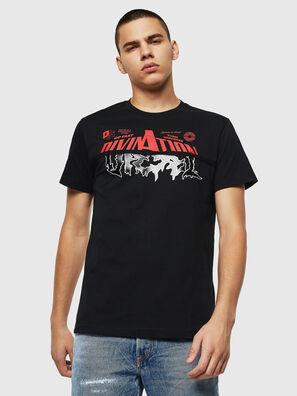T-DIEGO-B12, Negro - Camisetas