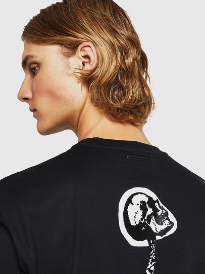 Diesel - TEORIALE-X1, Negro - Camisetas - Image 3