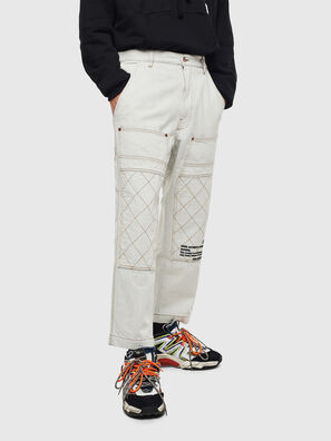 D-FRAK, Blanco - Pantalones