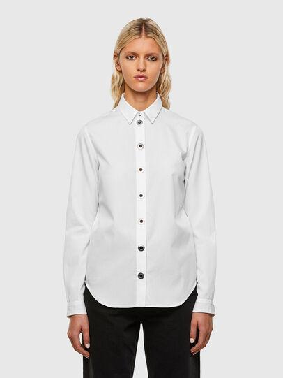 Diesel - C-MARION, Blanco - Camisas - Image 1