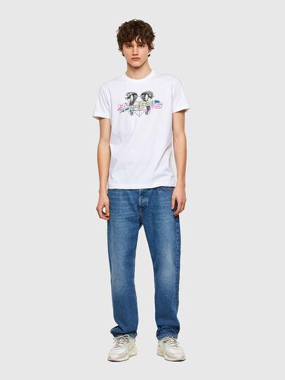 Diesel - T-DIEGOS-E35, Blanco - Camisetas - Image 4