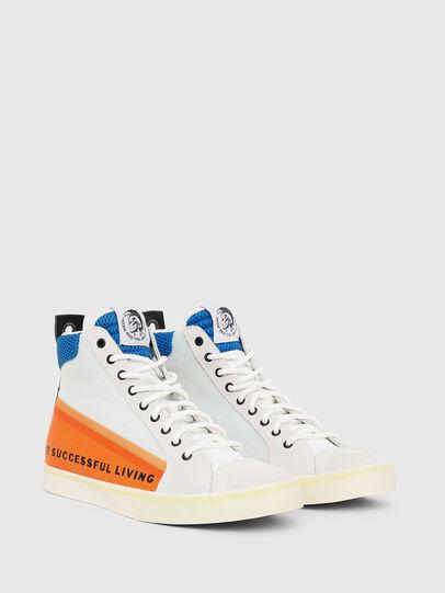 Diesel - S-DVELOWS MID, Blanco/Naranja - Sneakers - Image 2