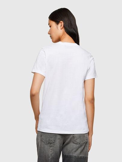 Diesel - T-SILY-R5, Blanco - Camisetas - Image 2