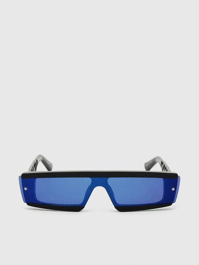 Diesel - DL0318, Negro/Azul - Gafas de sol - Image 1