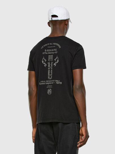 Diesel - T-DIEBIND, Negro - Camisetas - Image 6