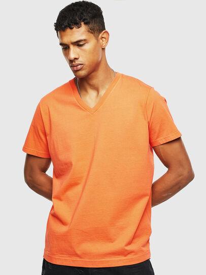 Diesel - T-THEA, Naranja - Camisetas - Image 1