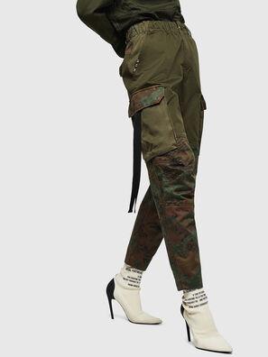 P-THENA-A, Verde Camuflaje - Pantalones