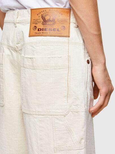 Diesel - D-FRANS-SP1, Blanco - Shorts - Image 4