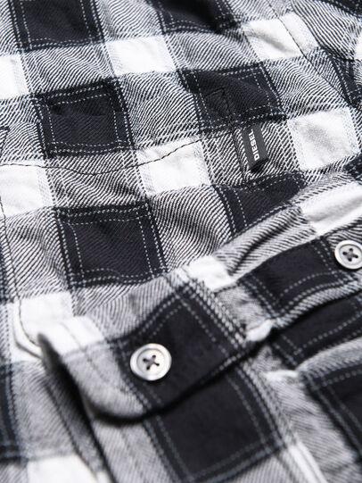 Diesel - CANOBJ, Negro/Blanco - Camisas - Image 3