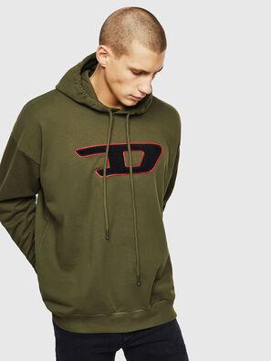 S-DIVISION-D, Verde Militar - Sudaderas
