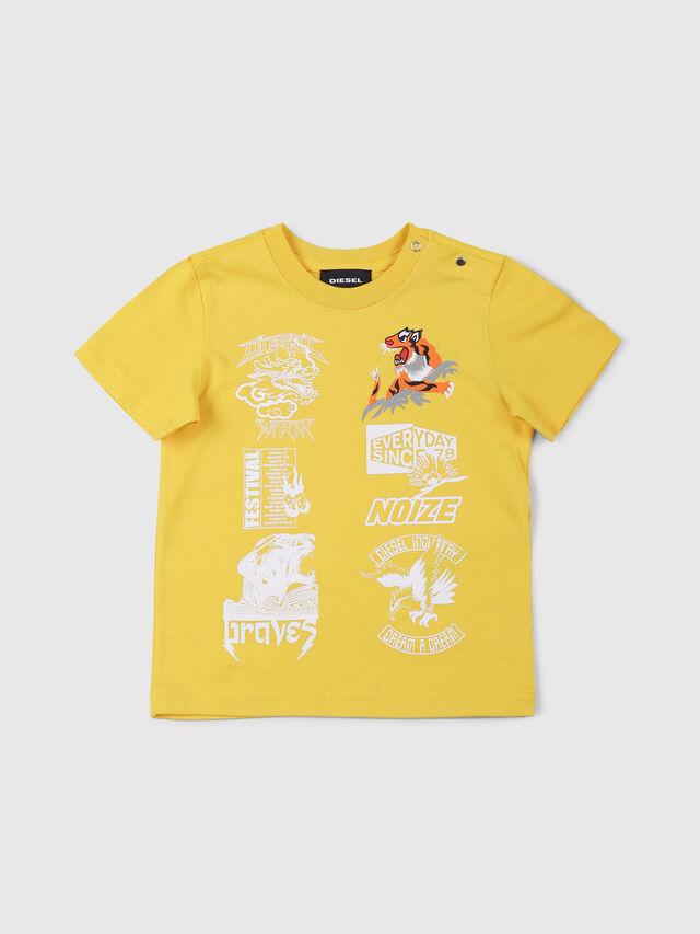 Diesel - TUCSEB, Amarillo - Camisetas y Tops - Image 1