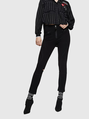 P-AITU, Negro - Pantalones