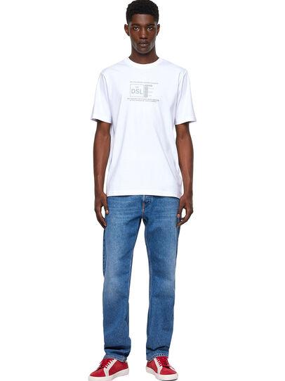 Diesel - T-JUST-A35, Blanco - Camisetas - Image 4