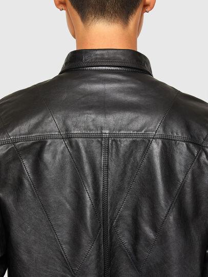Diesel - L-BROWN, Negro - Chaquetas de piel - Image 4