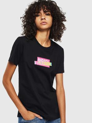 T-SILY-S2, Negro/Rosa - Camisetas