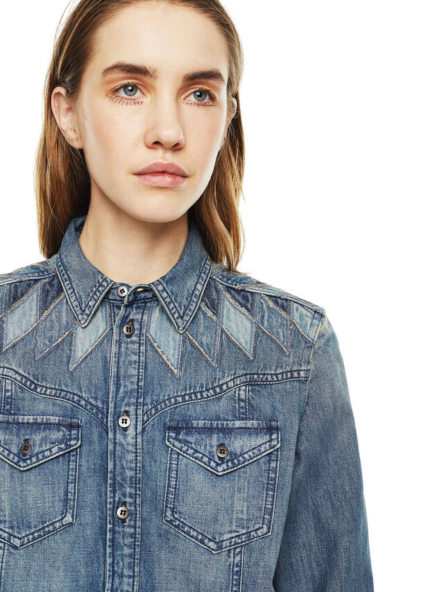 Diesel - CALLYVAN, Blue Jeans - Camisas - Image 3